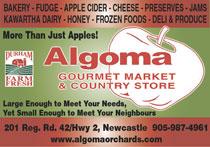 Algoma Orchards Ltd. Logo